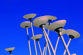 The landscape lamps in the park — Stock Photo