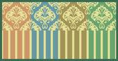 Vintage pastel patterns set — Stock Vector