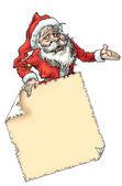 Santa claus page — Stock Photo