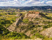 North Dakota Badlands — Stock Photo