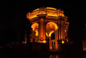The Palace of Fine Arts at Night — Stock Photo