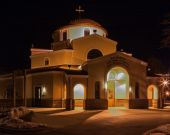 Sts. Kosmas and Damianos Greek Orthodox Church — Stock Photo