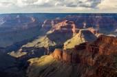 вид на гранд-каньон от южная обода — Стоковое фото