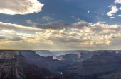 View of Grand Canyon from the South Rim — Stock Photo