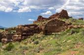 Pueblo Ruins in Wupatki National Monument — Stock Photo