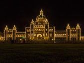 Legislative Building in Victoria — Stock Photo
