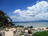 Beach on Kouri Island — Fotografia Stock