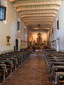 Worship Area at Mission San Diego de Alcala — Stock Photo