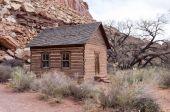 Schoolhouse at Fruita, Utah — Stock Photo