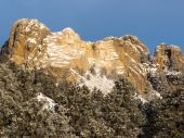 Mount Rushmore in Winter — Stock Photo