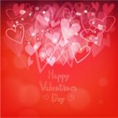 Szczęśliwy tło valentine's day — Wektor stockowy