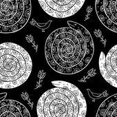 Snake seamless pattern — Stock Vector