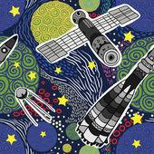 Deep Space  pattern — Stockvektor