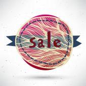 Sale badge — Stock Vector