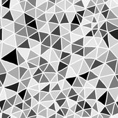 Stained-glass seamless pattern with triangles — Stock Vector