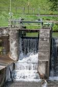 Waterfall - water - river - barrage — Stock Photo