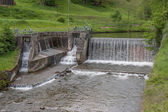 Waterfall - water - river - barrage — Stock Photo
