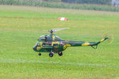 Military helicopter - Helicopter - Army - model helicopter — Stock Photo