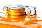 Motorbike fuel tank cap — Stockfoto