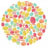 Pastel dots background — Stock Vector