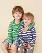Happy Kids Hugging and Smiling — Stock Photo