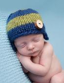 Newborn Baby Sleeping — Stock Photo