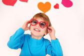 Valentine's Day: Kids Fun — Stock Photo