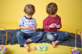 Kids Easter Activity and Crafts — Stock Photo