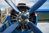 Engine propeller — Stock Photo