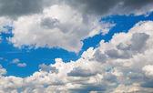 Moln på himlen — Stockfoto