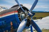 Propeller aircraft — Stock Photo