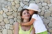 妈妈和女儿 — 图库照片
