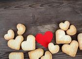 Cookies hearts — Stock Photo