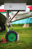 Landing gear — Stock Photo