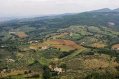 View of italian highlands — Stock Photo