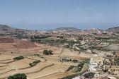 View of maltese plateau horizontal — Stock Photo