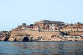 View of Valletta from the sea — Stock Photo