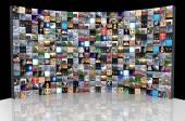 Multimedia background — Stock Photo