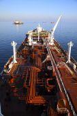 Pipelines supertanker — Stock Photo