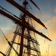 Background - sailing ship rigging — Stock Photo #59348875