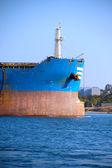 Huge cargo ship — Zdjęcie stockowe