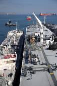 Tanker on the high seas — Stock Photo