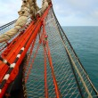 Bowsprit an old sailing ship — Stock Photo #60459071