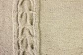 Brown wool drawing — Stock Photo