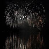 Fireworks - Ignis Brunensis in Czech republic in Brno 18.6.2014 — Stock Photo
