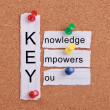 Knowledge Empowers You — Stock Photo #57867231