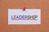 понятие лидерства — Стоковое фото