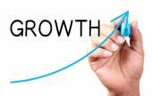 Conceito de crescimento — Fotografia Stock