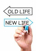 New Life Or Old Life — Stock Photo