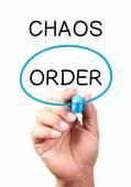 Zeby nie Chaos — Zdjęcie stockowe